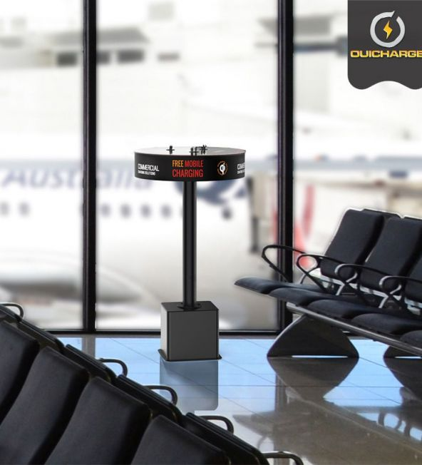 installation-station-chargement-telephones-aeroport