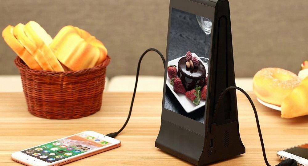 Installation borne de recharge pour téléphones dans votre restaurant
