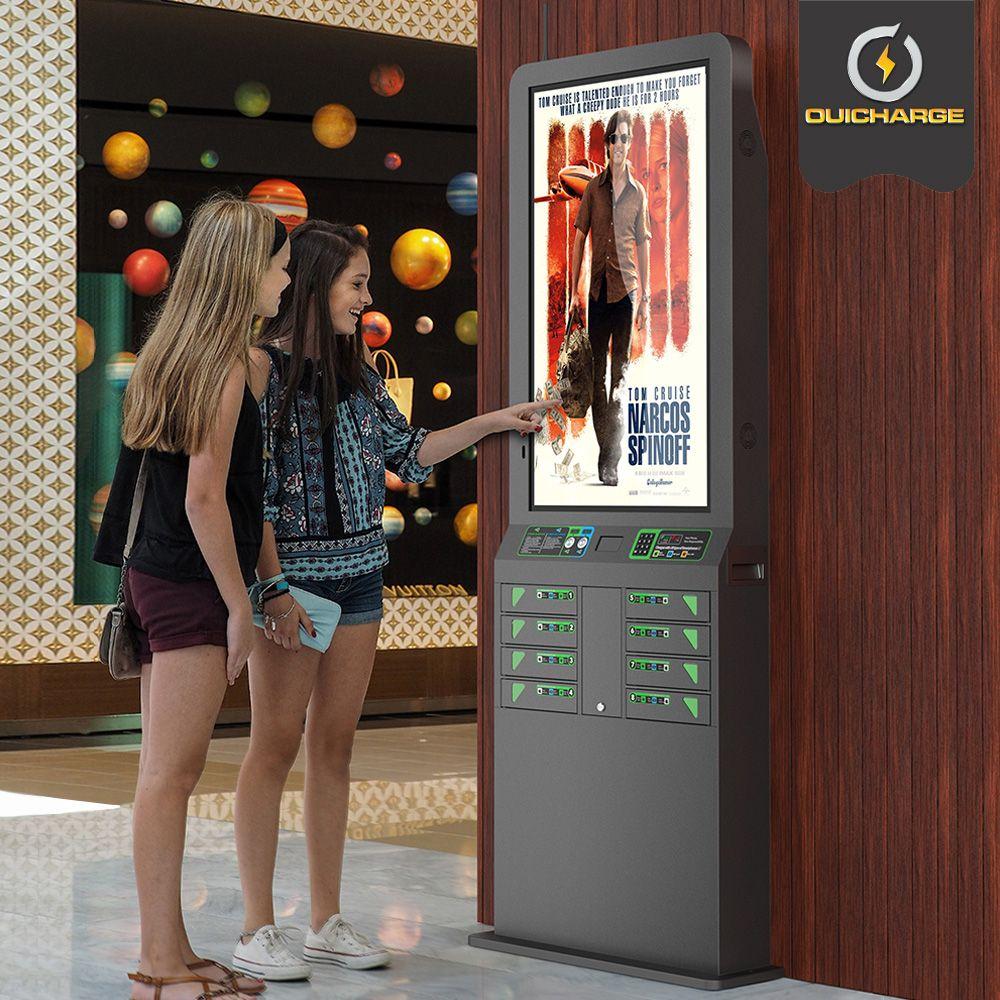 Installation borne de recharge pour téléphones dans votre cinéma